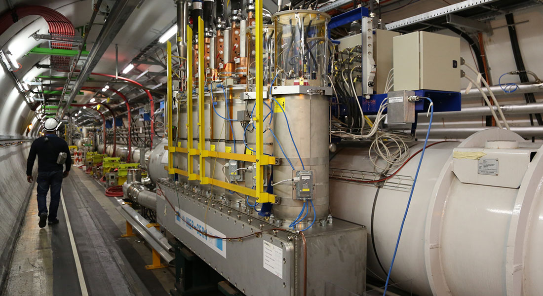 National Instrument Center for CERN research
